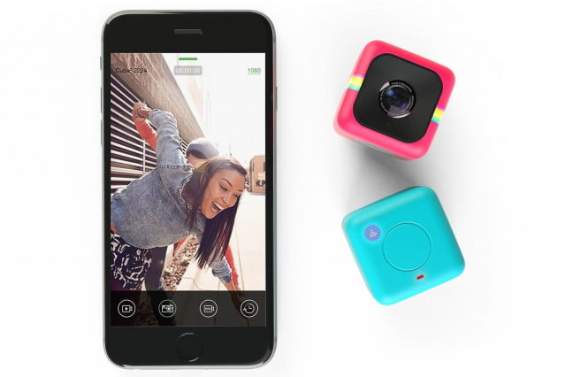 The new Polaroid Cube+ adds Wi-Fi connectivity, and works with a companion app for iOS or Android.