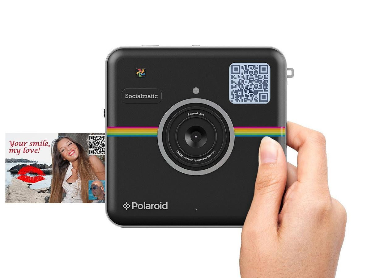 polaroids instagram camera now pre order polaroid socialmatic