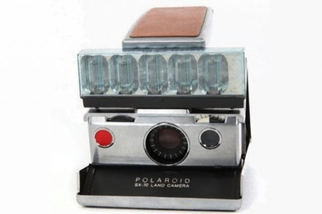 looking to get rid of  burn it on andy warhols old polaroid sx land camera warhol