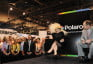 Lady Gaga at the Polaroid Booth at CES 2010