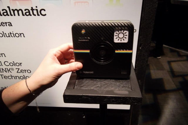 polaroid snaps instant gratification socialmatic camera printer hybrid polaroidsocialmatic