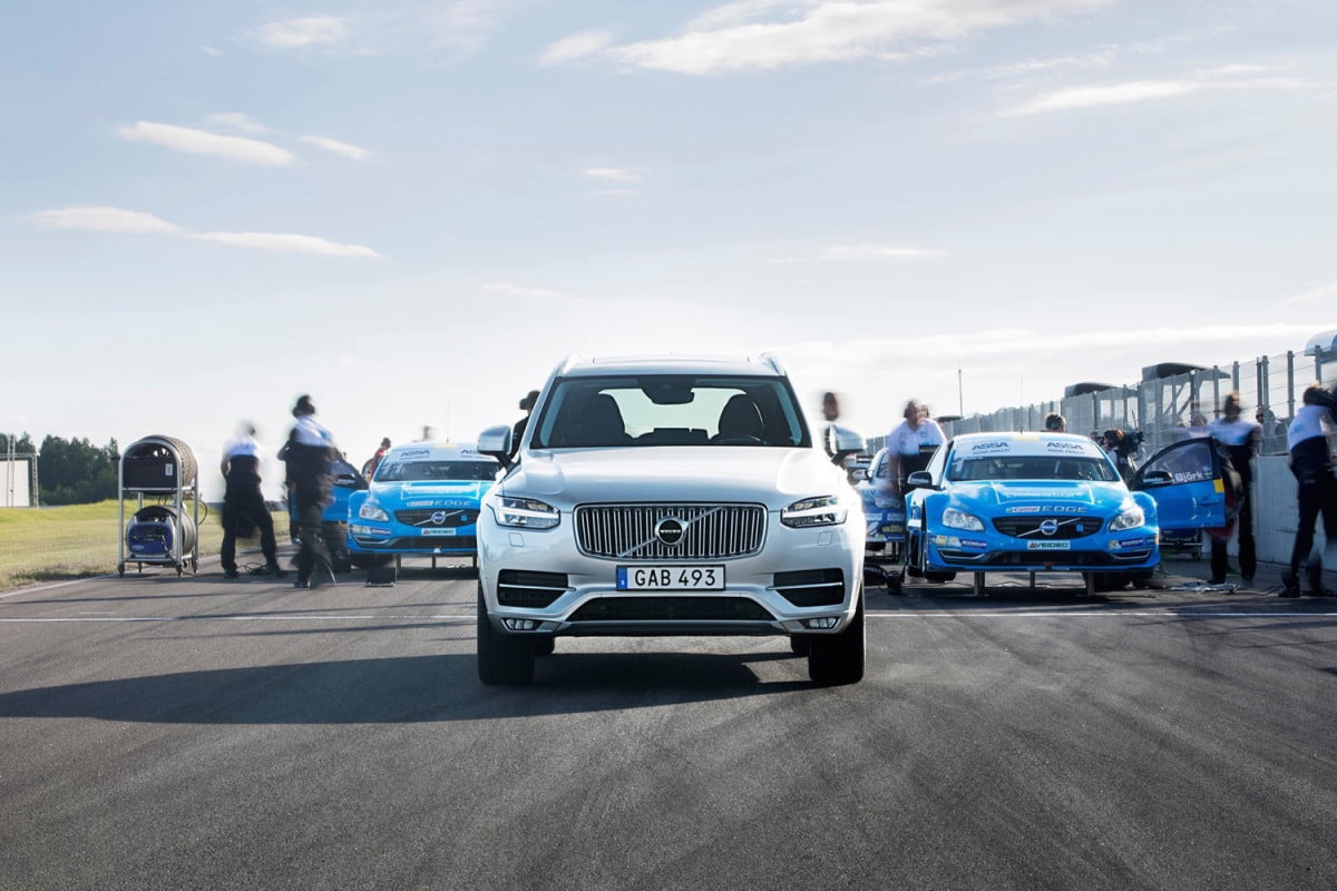 volvo xc  gets mild polestar upgrades and more could be on the way