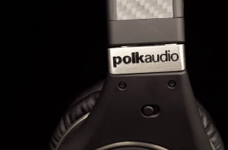 polk ultrafocus 8000 active noise canceling headphones active dynamic balance driver logo