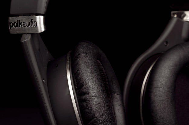 polk ultrafocus 8000 active noise canceling headphones padded on ear passive isolation technology