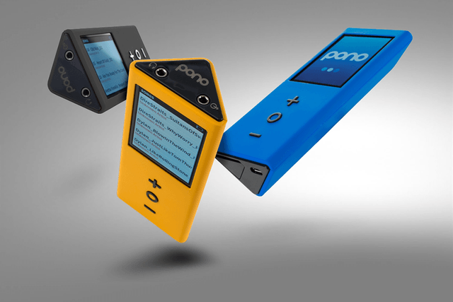 neil youngs pono hi def mp  player players yellow blue