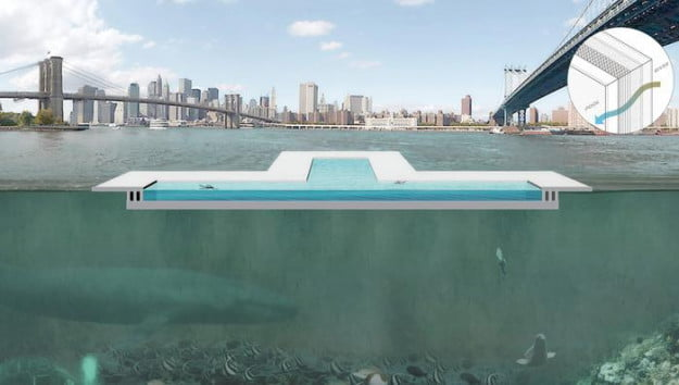 +pool east river