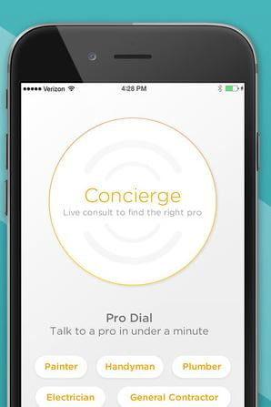 porchs new app helps you find a plumber or electrician in under minute porch concierge