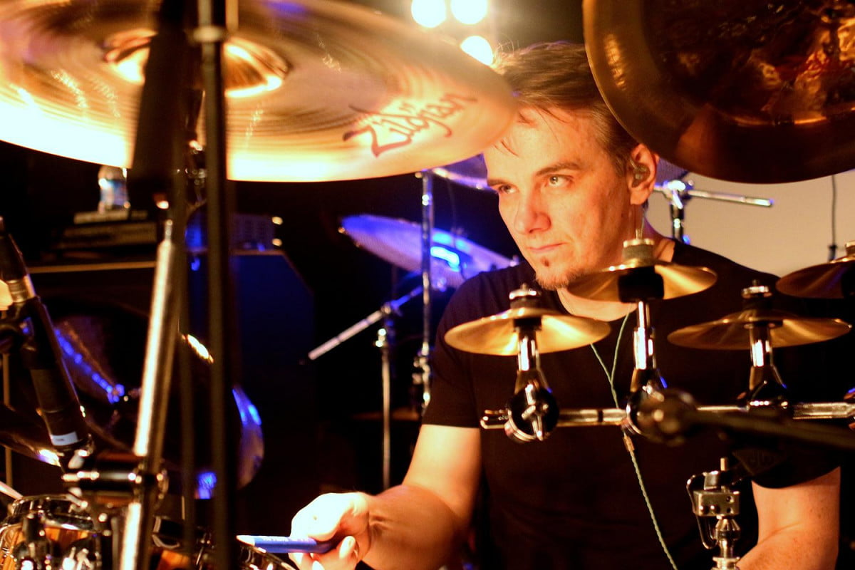 gavin harrison of porcupine tree on cheating the polygraph drummer