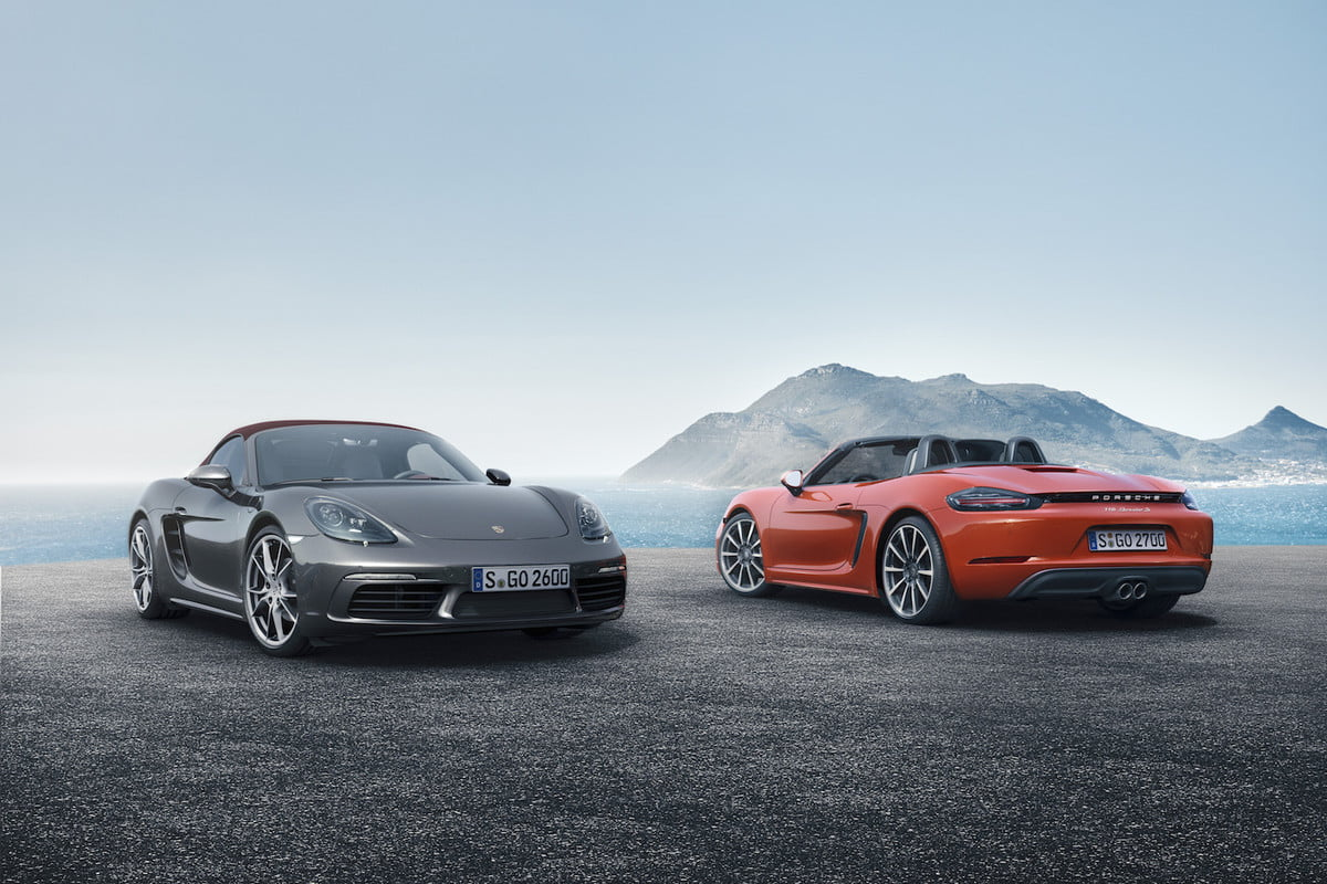 porsche plans less powerful  boxster cayman for china pair