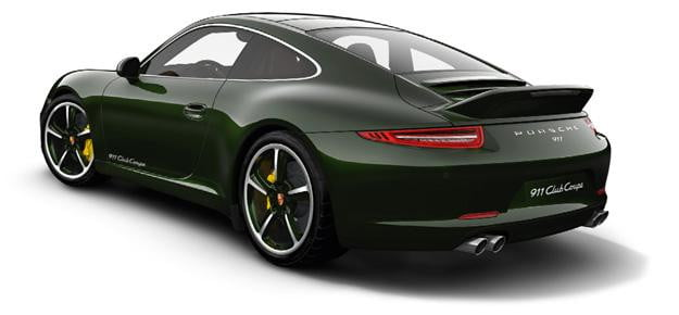 Porsche 911 Club Coupe Ducktail