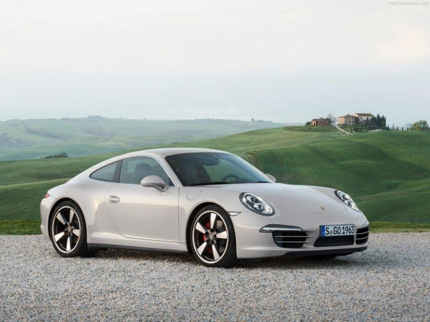 Porsche 911 50 Years Edition front three quarter