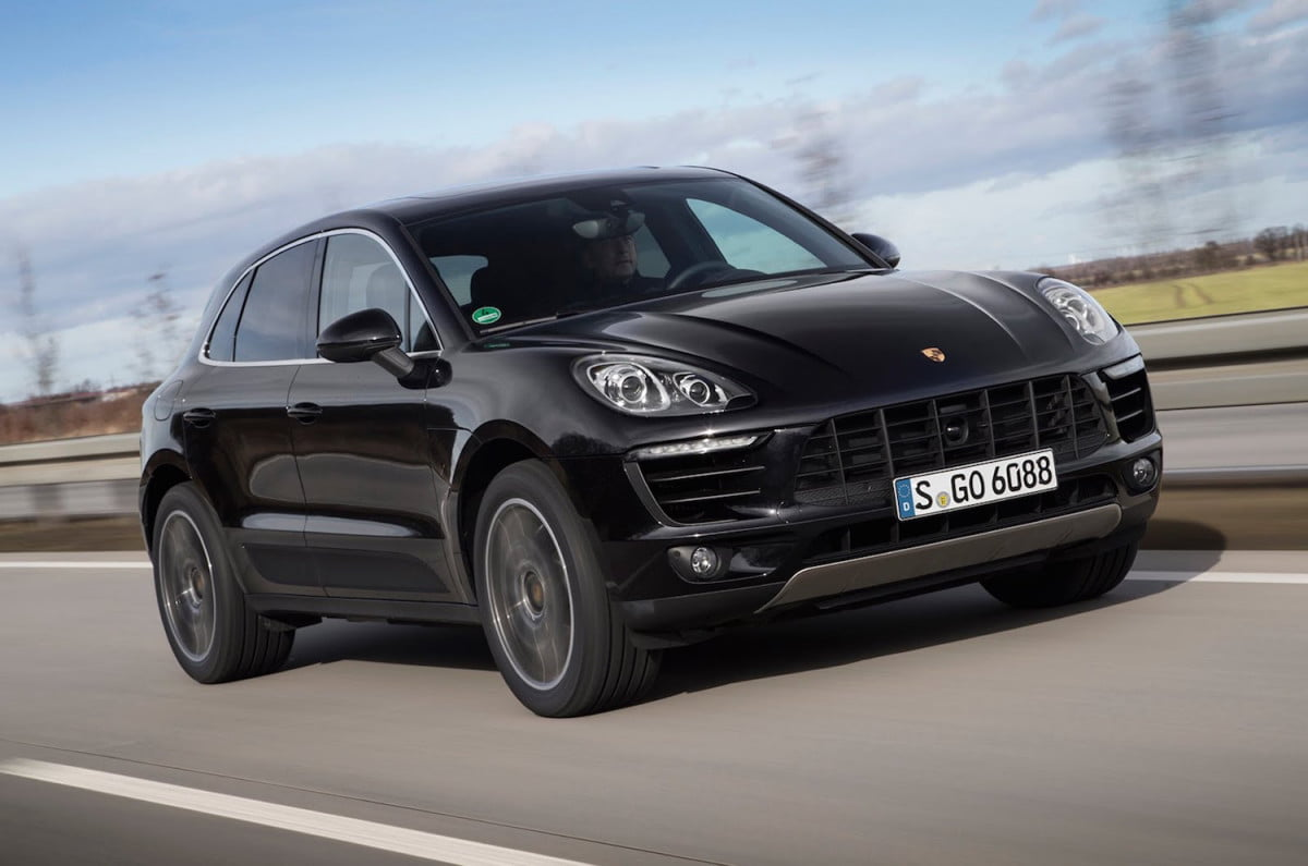 porsche sub compact crossover planned specs news macan turbo s front angle