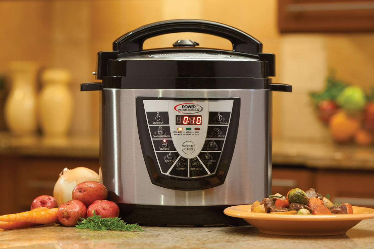 how to use a pressure cooker power xl header