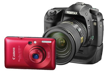 Powershot SD780IS and Pentax K20d