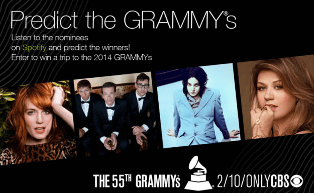 predict the grammys