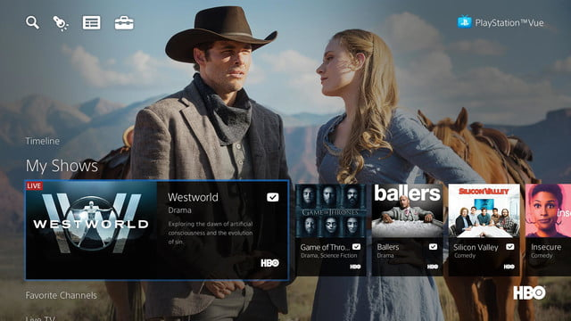 playstation vue channel guide plans features preview screenshot