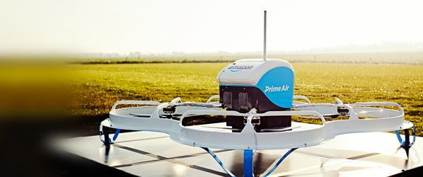 Amazon's delivery drones may use parachutes to drop packages in your yard