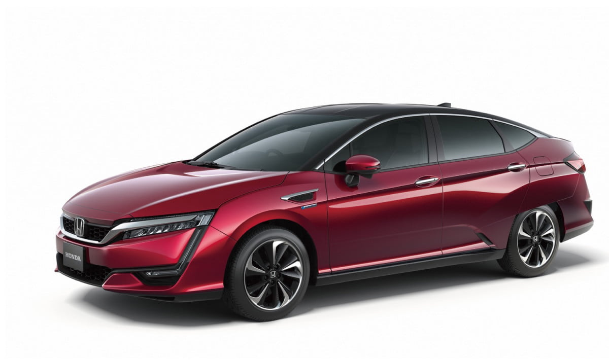honda previews its fuel cell vehicle ahead of  tokyo motor show fcv