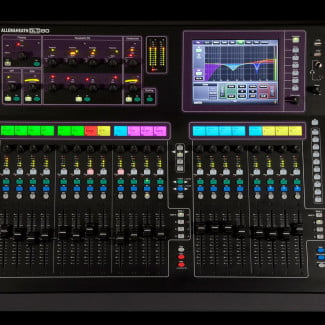 Pro sound with iPads Allen and Heath GLD 80 Digital Mixing Console