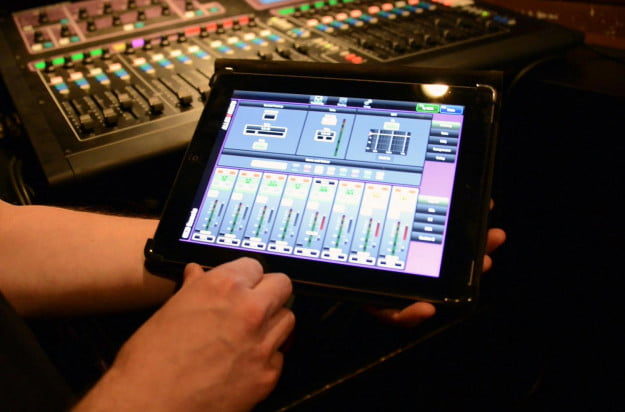 Pro sound with iPads screenshot