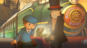 Professor Layton and the Diabolical Box Screenshot