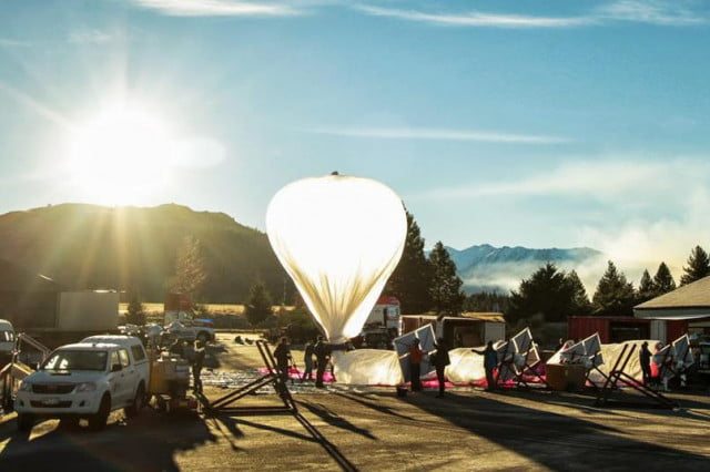 google to further project loon with test flights over australia