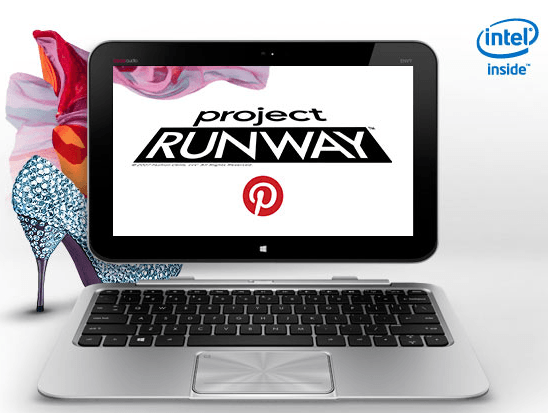 project runway hp ultrabook
