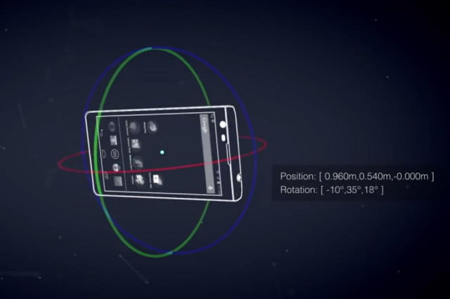 google developing tablet advanced vision capabilities project tango