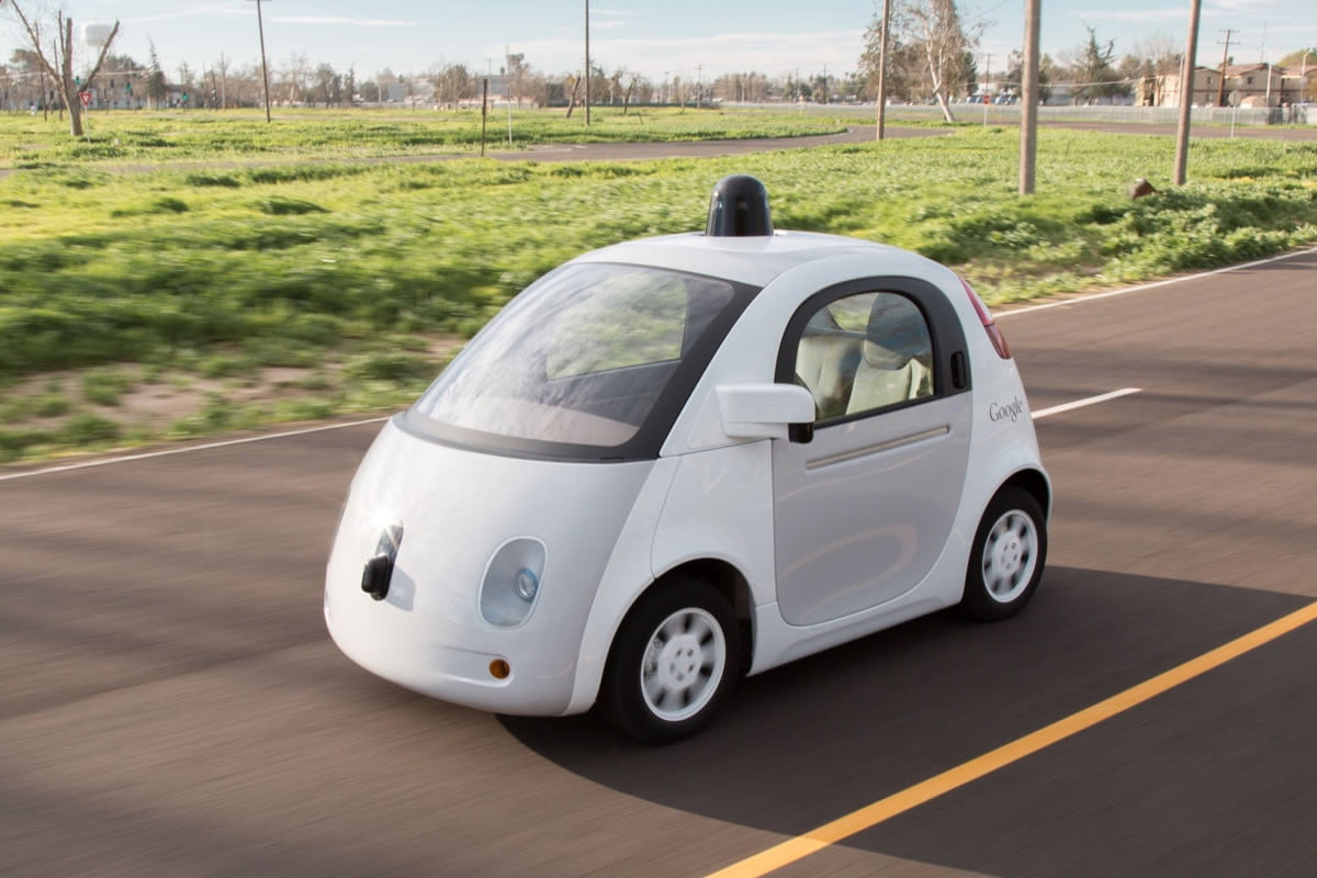 google patents car to pedestrian communication system self driving