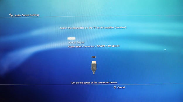 PS3-audio-connection