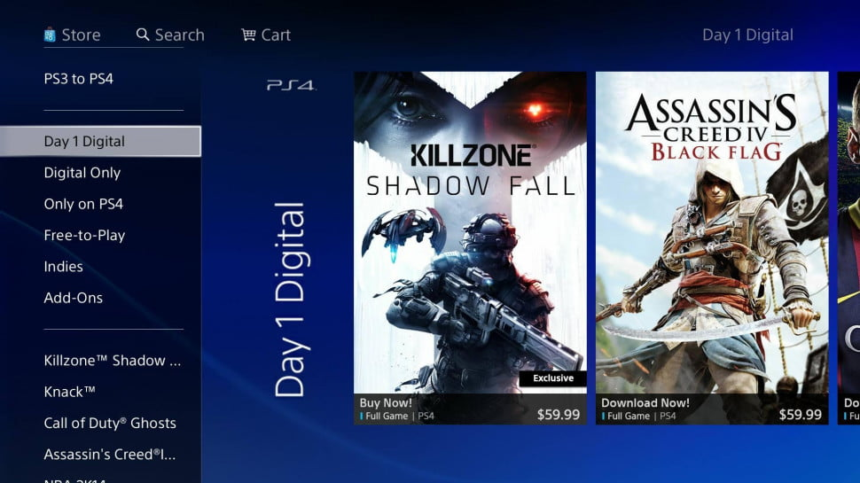 PS4 PlayStation Store