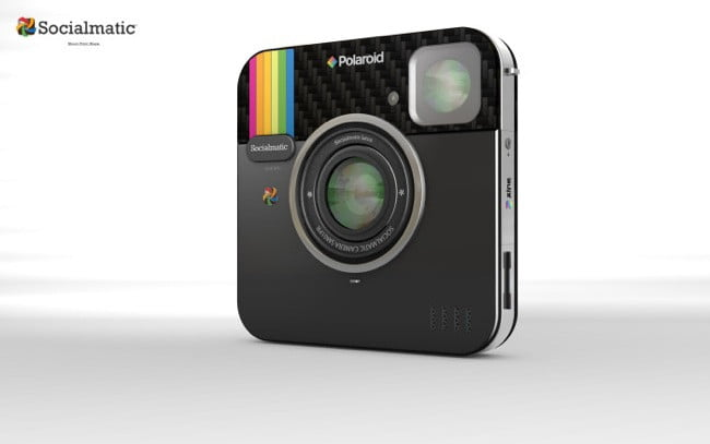 back to the future socialmatic digital instant camera concept be branded polaroid ps  x