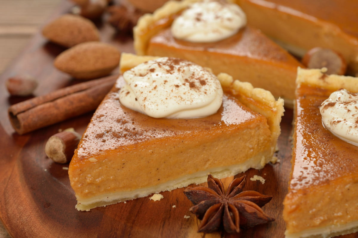 how to make pumpkin pie without an oven