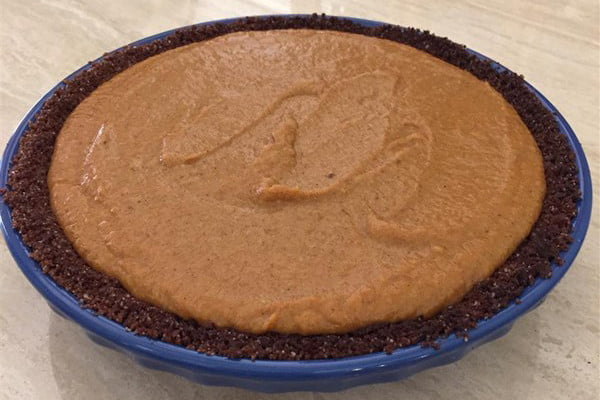 pumpkin-pie-On-the-stove