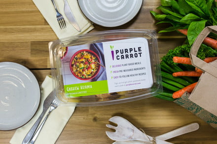 Purple Carrot vegan meal kits