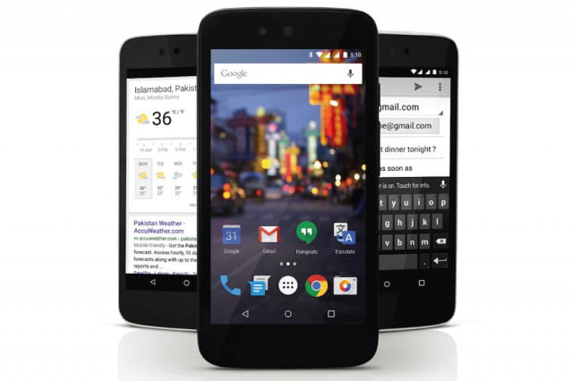 The Android One QMobile A1 for Pakistan