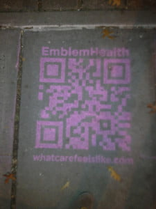 QR in the concrete