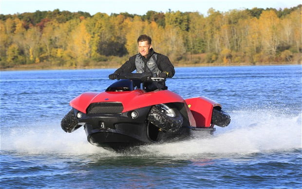 gibbs quadski an amphibious atv digital trends. Black Bedroom Furniture Sets. Home Design Ideas