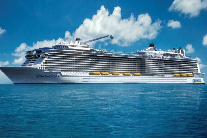 smart cruise ship quantum