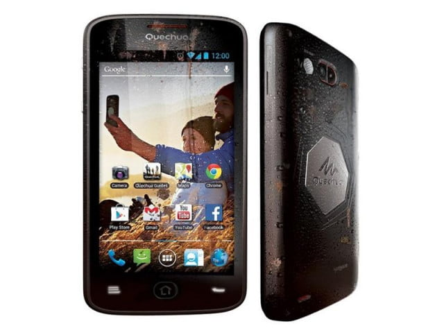 quechua handset rugged android smartphone can take anywhere