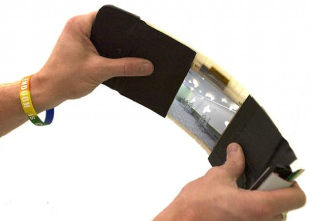 canadian researchers create flexible camera that easily captures panoramas queens university human media lab flexcam