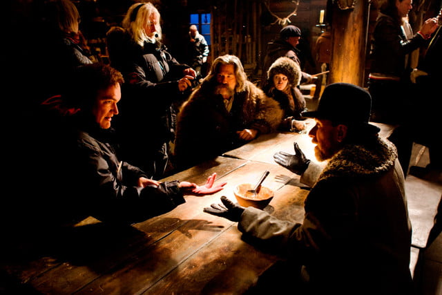 the hateful eight to become a play quentin tarantino tarrantino  western