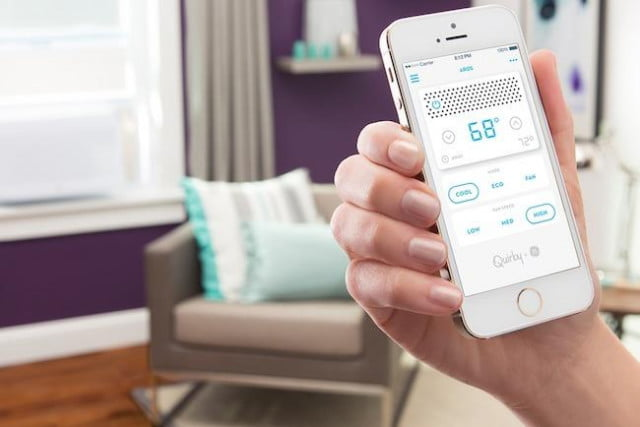 quirky smart home wink app aros