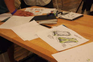 Quirky iPhone 5 design sketches