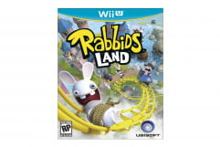 rabbids land review cover art