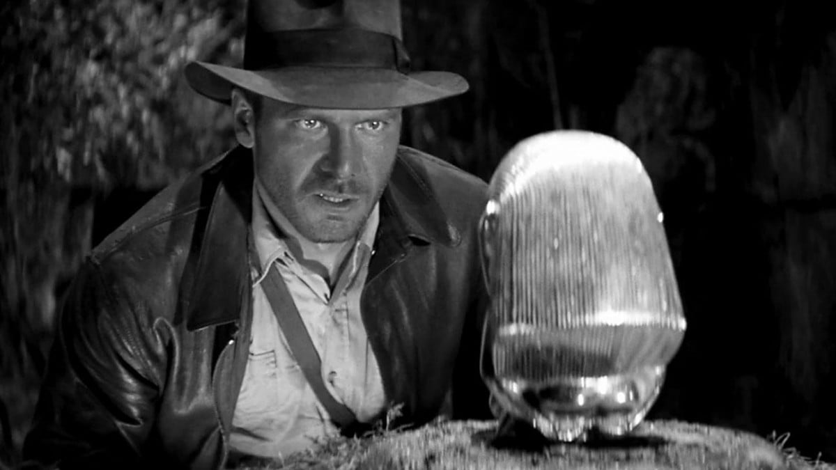 steven soderbergh turns raiders lost ark silent black white film of the