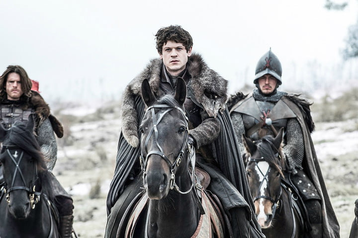ramsay on a horse