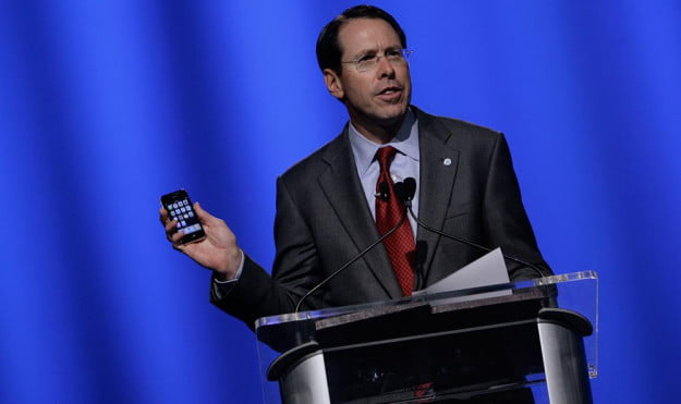 Randall Stephenson iPhone