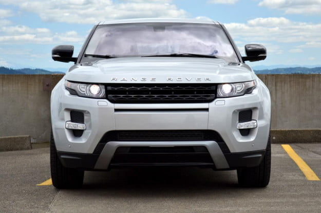 Rang Rover Evoque front 2012 review