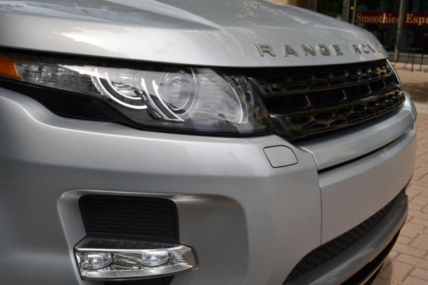 Rang Rover Evoque grill review 2012